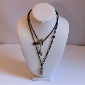 Eclectic Fitrou Mixed Metal Chain Necklace